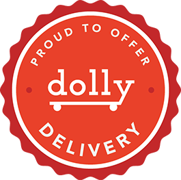 Proud to Offer Dolly Delivery